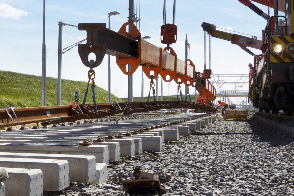 rails soudés ferroviaire